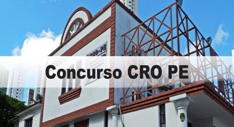 Concurso CRO PE: Inscrições encerradas