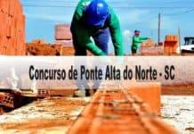 Concurso Câmara Vereadores de Ponte Alta do Norte SC