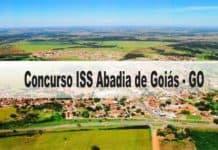 Concurso ISS Abadia de Goiás GO