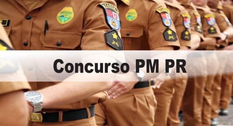 Concurso PM-PR: Provas REMARCADAS para 28/03/2021