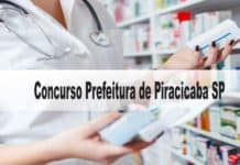 Concurso Prefeitura Municipal de Piracicaba SP