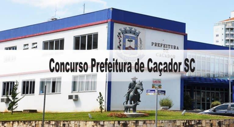 Concurso Prefeitura de Caçador SC: Provas suspensas
