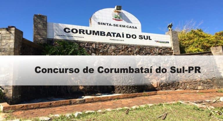 Concurso Prefeitura de Corumbataí do Sul-PR: Inscrições abertas
