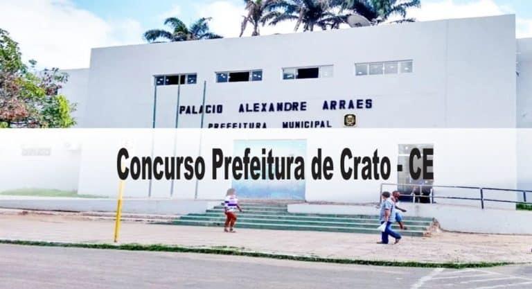Concurso Prefeitura de Crato – CE: Inscrições Abertas para 387 vagas!