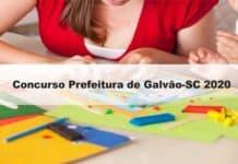 Concurso Prefeitura de Galvão-SC 2020