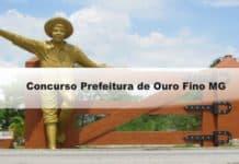 Concurso Prefeitura de Ouro Fino MG
