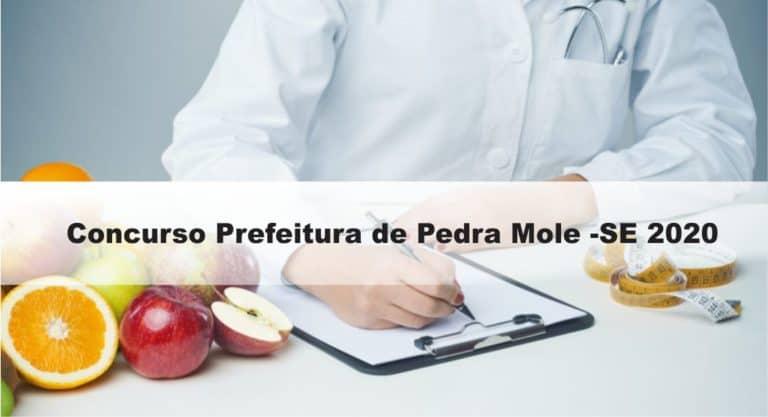 Concurso Prefeitura de Pedra Mole -SE 2020: Provas previstas para dia 14/03/21
