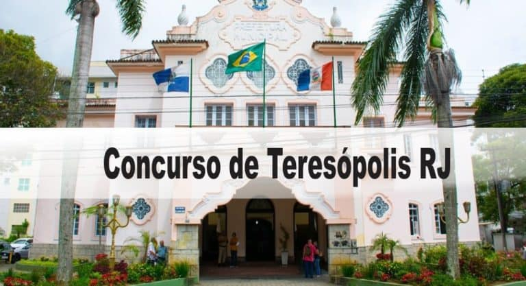 Concurso Prefeitura de Teresópolis RJ: Inscrições abertas