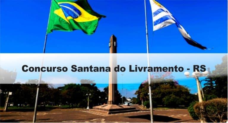 Concurso Santana do Livramento – RS: Provas dia 10/01/21