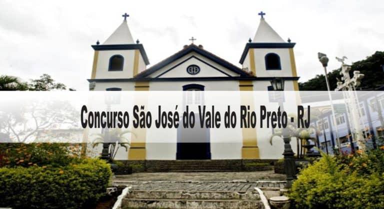 Concurso São José do Vale do Rio Preto RJ: Inscrições abertas