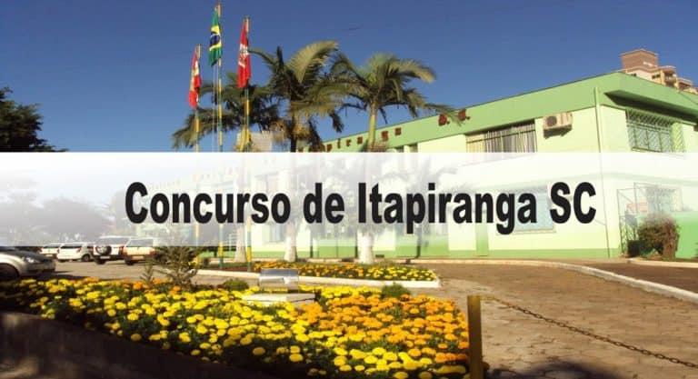 Concurso Prefeitura de Itapiranga SC