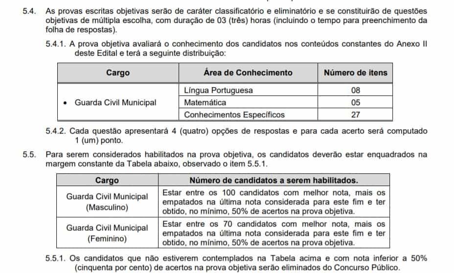PROVAS - Concurso Campo Limpo Paulista SP