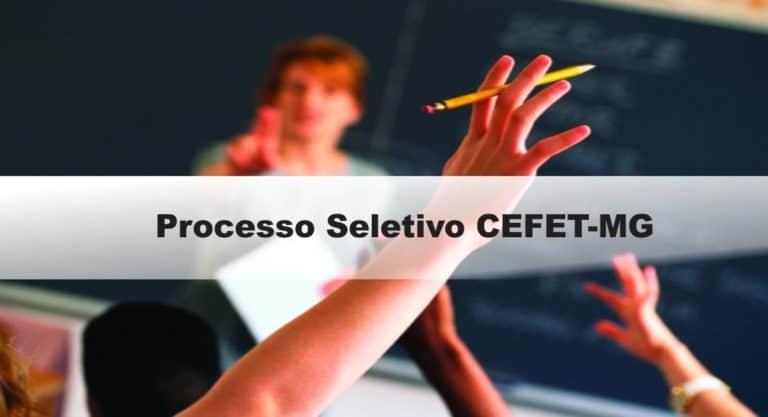Processo Seletivo CEFET-MG