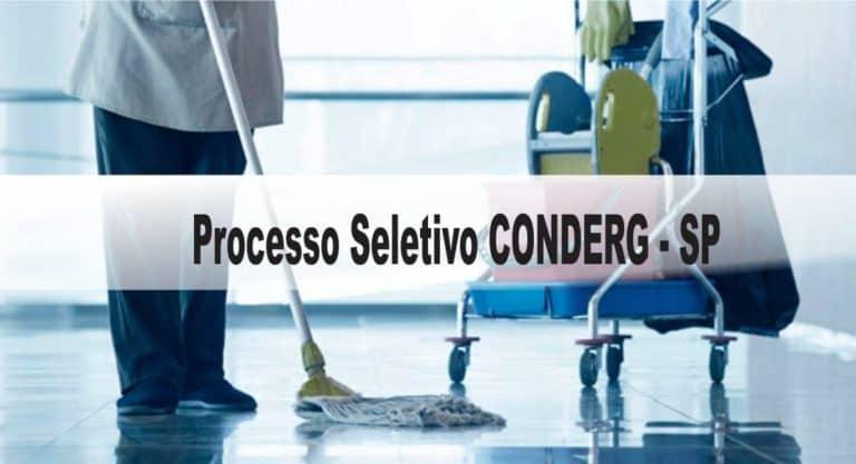 Processo Seletivo CONDERG SP