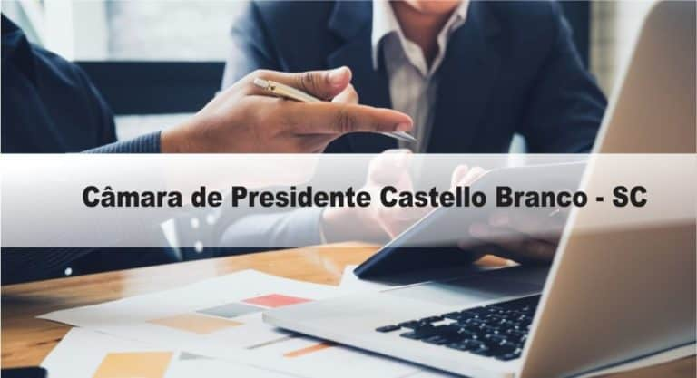 Processo Seletivo Câmara de Presidente Castello Branco – SC: Inscrições abertas