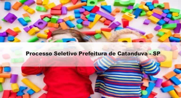 Processo Seletivo Prefeitura de Catanduva (SP)- Educação: Provas dia 10/01/21