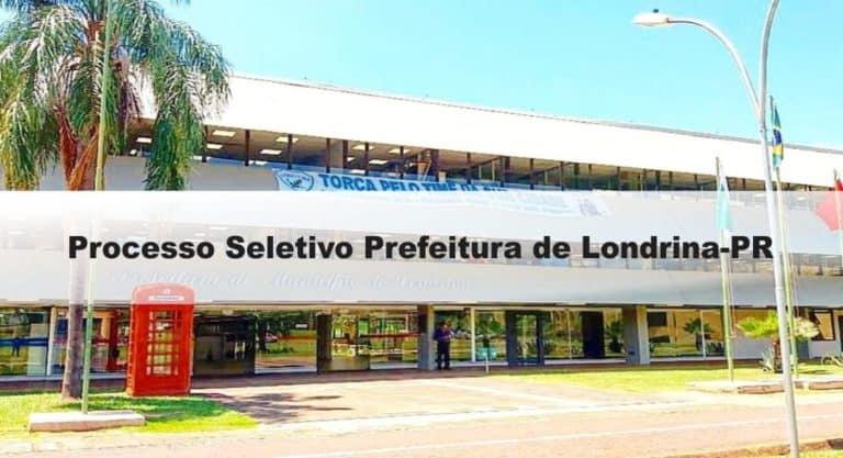 Processo Seletivo Prefeitura de Londrina-PR