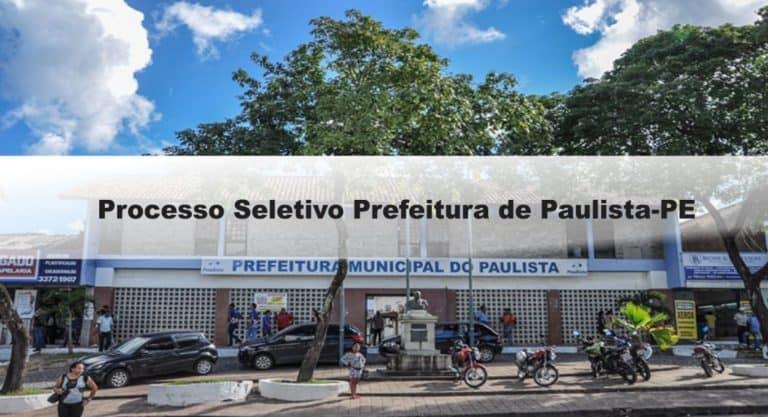 Processo Seletivo Prefeitura de Paulista-PE: Inscrições abertas