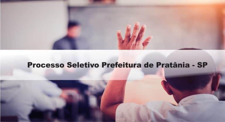 Processo Seletivo Prefeitura de Pratânia-SP