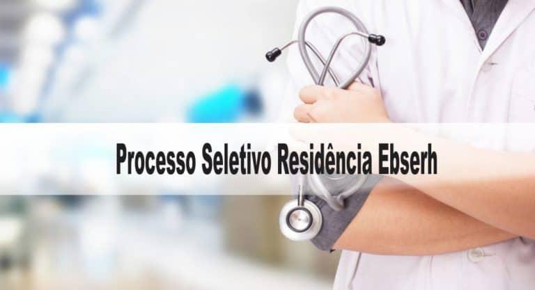 Processo Seletivo Residência Ebserh: Exame escrito dia 10/01/21