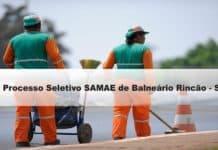 Processo Seletivo SAMAE de Balneário Rincão-SC 2020