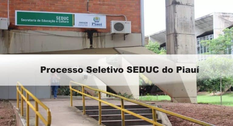 Processo Seletivo SEDUC do Piauí