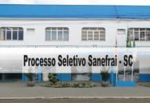 Processo Seletivo Sanefrai SC