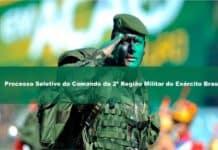 Processo Seletivo do Comando da 2ª Região Militar do Exército Brasileiro