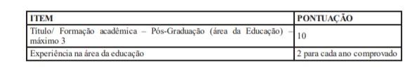 TITULO - Processo Seletivo Prefeitura de Califórnia - PR