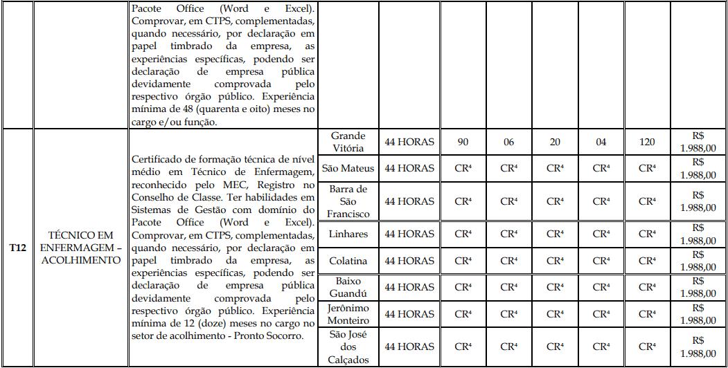 cargos 1 149 - Processo Seletivo Fundação Inova Capixaba - ES