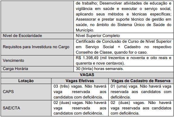 cargos 1 64 - Concurso Ananindeua PA: Provas remarcadas