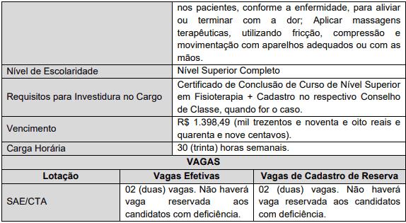cargos 1 66 - Concurso Ananindeua PA: Provas remarcadas
