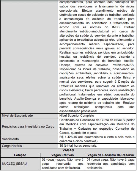 cargos 1 71 - Concurso Ananindeua PA: Provas remarcadas