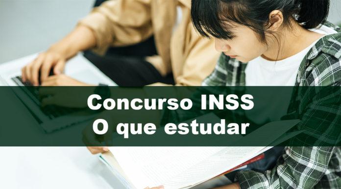 Concurso INSS: O que estudar para passar mais rápido