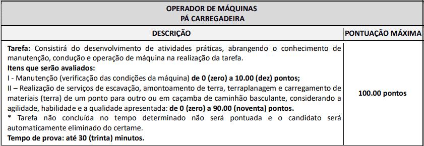 prova pratica 1 4 - Concurso Prefeitura Tamboara-PR 2020/2021: Inscrições encerradas