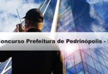 Concurso Prefeitura de Pedrinópolis - MG