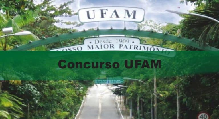 Concurso UFAM: Inscrições encerradas com 25 vagas para o cargo de Professor