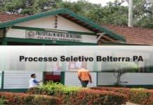 Processo Seletivo Belterra PA