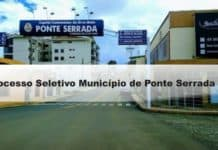 Processo Seletivo Município de Ponte Serrada - SC