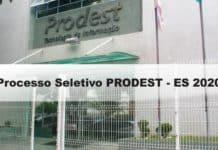 Processo Seletivo PRODEST-ES 2020