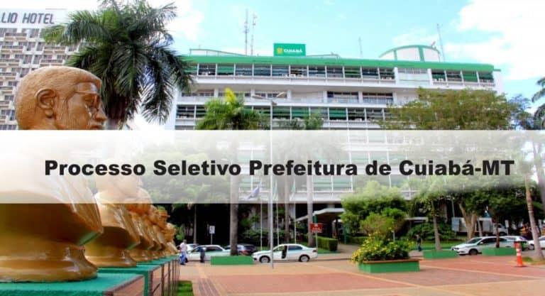 Processo Seletivo Prefeitura de Cuiabá-MT