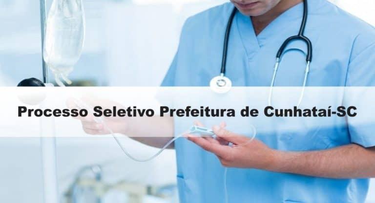 Processo Seletivo Prefeitura de Cunhataí-SC