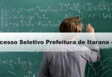 Processo Seletivo Prefeitura de Itarana-ES