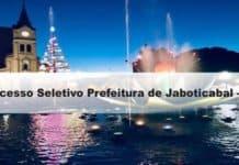 Processo Seletivo Prefeitura de Jaboticabal - SP