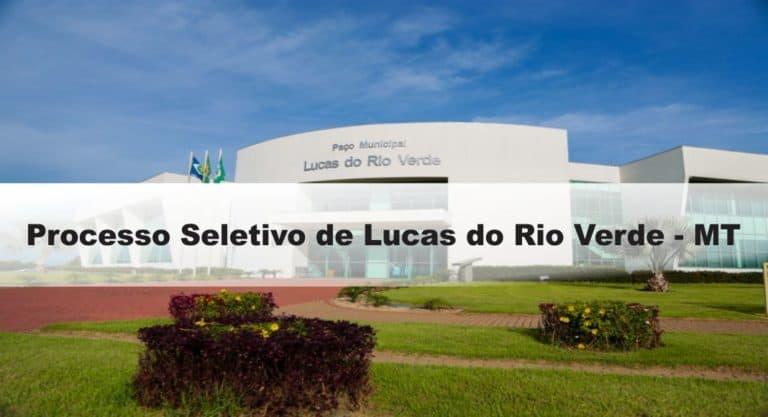 Processo Seletivo Prefeitura de Lucas do Rio Verde – MT: Provas previstas para dia 24/01/21