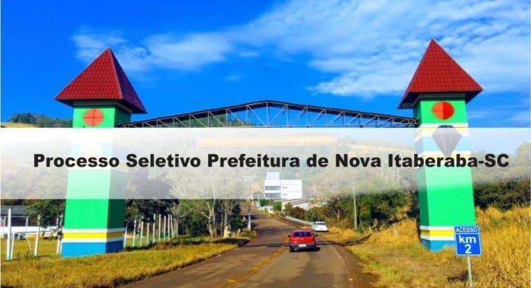 Processo Seletivo Prefeitura de Nova Itaberaba-SC