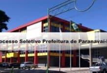 Processo Seletivo Prefeitura de Paranavaí-PR