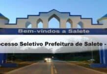 Processo Seletivo Prefeitura de Salete-SC