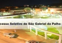 Processo Seletivo Prefeitura de São Gabriel da Palha - ES