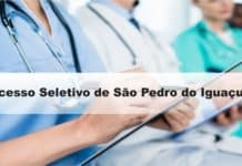 Processo Seletivo Prefeitura de São Pedro do Iguaçu-PR